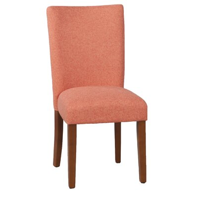 Kirkland Parsons Chair Upholstery: Mango Coral