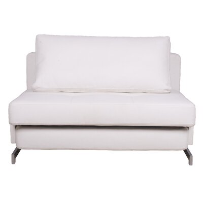 Rutledge Sleeper Sofa Upholstery: White