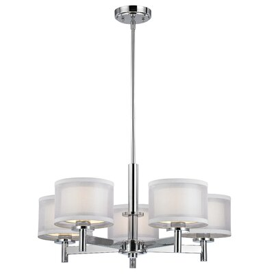 Jarrett 5-Light Drum Chandelier