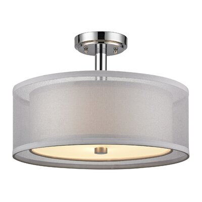 Jarrett 3-Light Semi Flush Mount