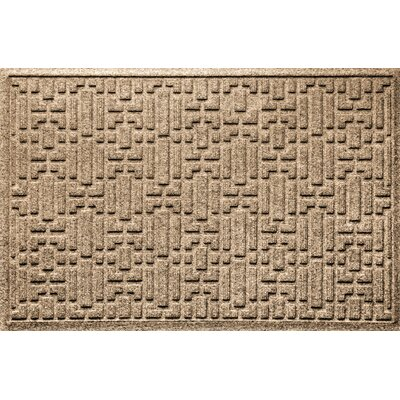 Landry Gatsby Doormat Color: Camel