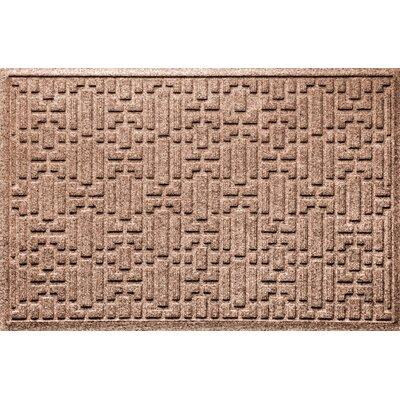 Landry Gatsby Doormat Color: Medium Brown