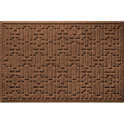 Landry Gatsby Doormat Color: Dark Brown