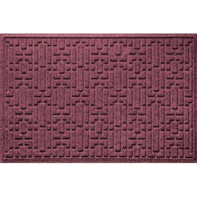 Landry Gatsby Doormat Color: Bordeaux