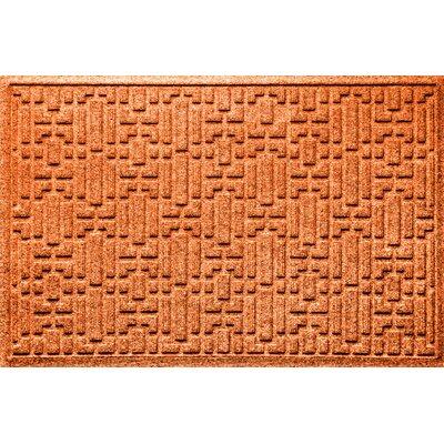 Landry Gatsby Doormat Color: Orange