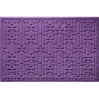 Landry Gatsby Doormat Color: Purple
