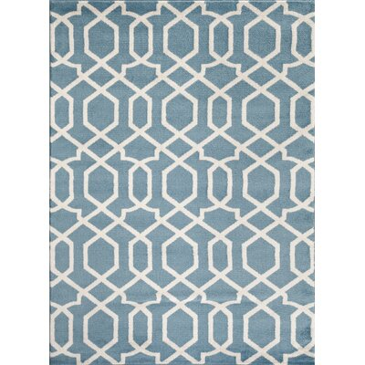 Shields Blue Area Rug Rug Size: Rectangle 710 x 102
