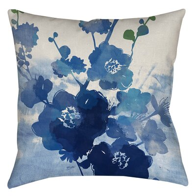 Granville Printed Throw Pillow Size: 18 H x 18 W