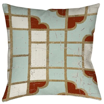 Groton 4 Printed Throw Pillow Size: 16 H x 16 W x 4 D