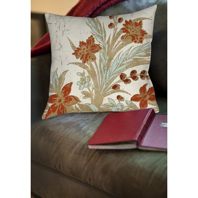 Guinyard Printed Throw Pillow Size: 14 H x 14 W x 3 D