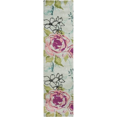 Somerdale Cream Area Rug Rug Size: Runner 23 x 7