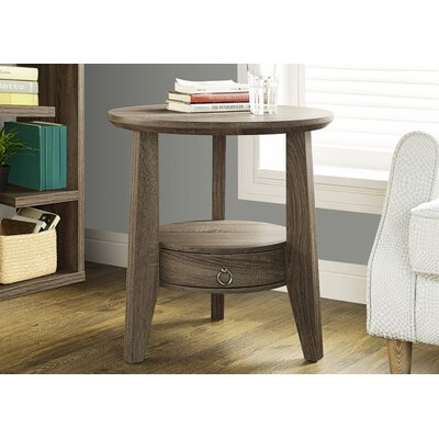Sandara End Table Finish: Dark Taupe