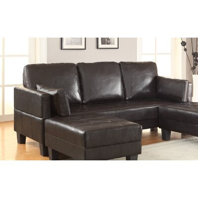 Latitude Run LATT4892 Methuen Sleeper Sofa & 2 Ottomans