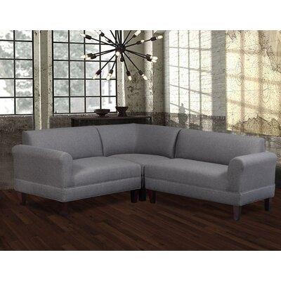 Boyd Modular Sectional Upholstery: Jitterbug Gray