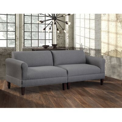 Boyd Modular Sofa Upholstery: Jitterbug Gray