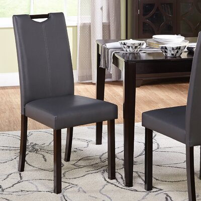 Cox Side Chair Upholstery: Gray