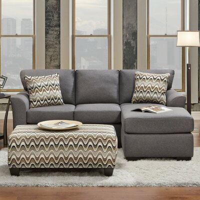 Mueller Sectional Upholstery: Gray