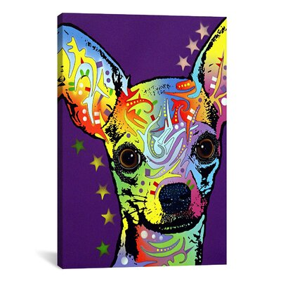 'Chihuahua ll' by Dean Russo Graphic Art on Canvas Size: 12