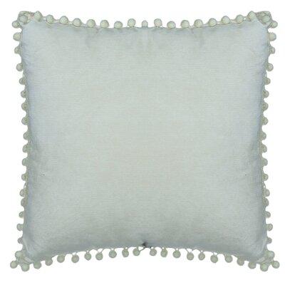 Hancock Pompom Throw Pillow Color: Mint