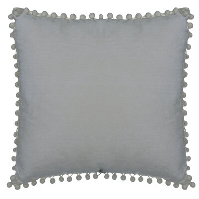 Hancock Pompom Throw Pillow Color: Gray