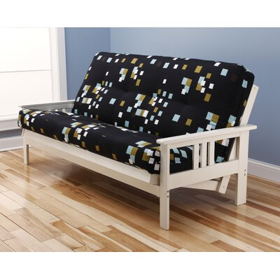 Hardwick Modern Blocks Futon and Mattress