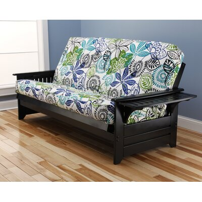 Harwich Futon and Mattress Frame Finish: Black