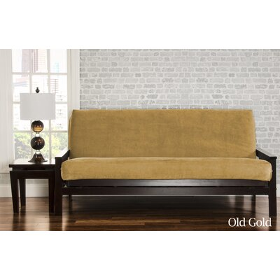 Brooks Futon Slipcover Upholstery: Old Gold