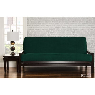 Brooks Futon Slipcover Upholstery: Jungle
