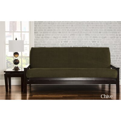 Brooks Box Cushion Sofa Slipcover Upholstery: Chive