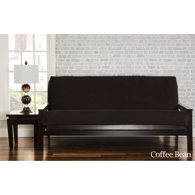 Brooks Futon Slipcover Upholstery: Coffee Bean