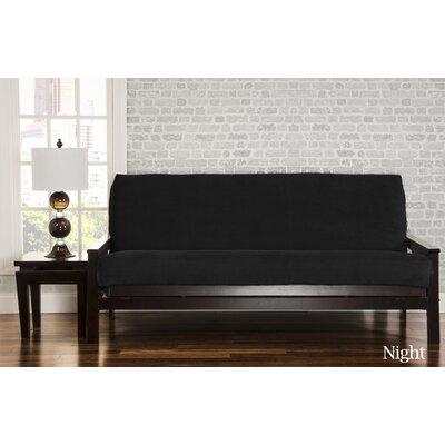 Brooks Futon Slipcover Upholstery: Night