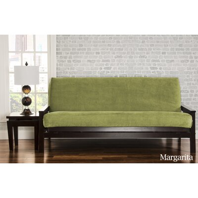 Brooks Box Cushion Sofa Slipcover Upholstery: Margarita