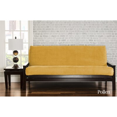 Brooks Box Cushion Sofa Slipcover Upholstery: Pollen
