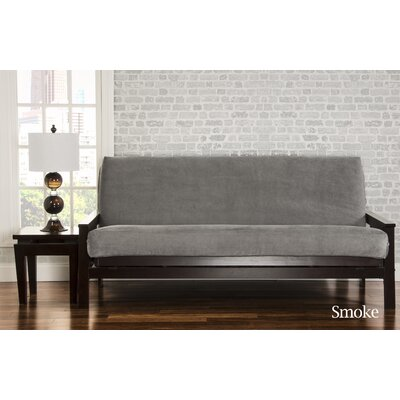 Brooks Box Cushion Sofa Slipcover Upholstery: Smoke
