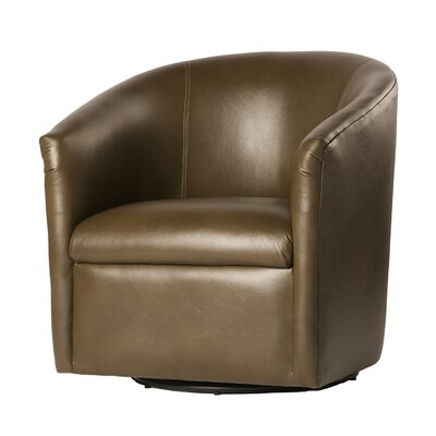 Garland Swivel Barrel Chair Finish: Mink