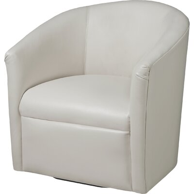 Garland Swivel Barrel Chair Finish: Milky