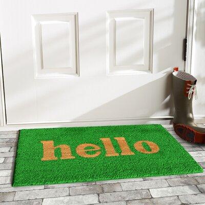 Jerald Hello Doormat