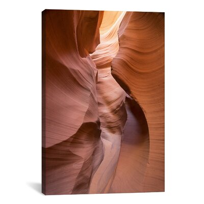 'Spiral I' Photographic Print on Wrapped Canvas Size: 18