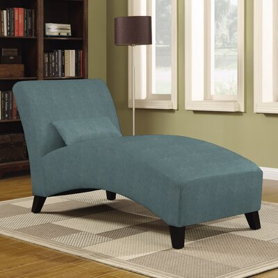 Jules Polyester Chaise Lounge Upholstery: Turquiose
