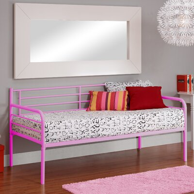 Lawrence Contemporary Daybed Finish: Pink