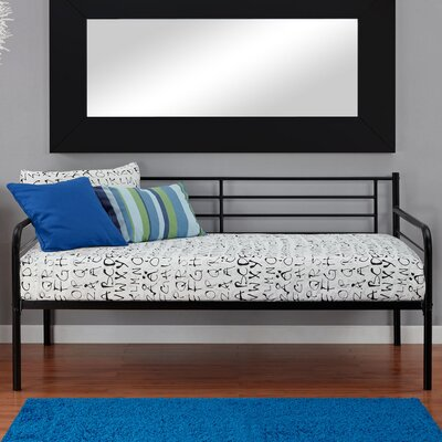 Lawrence Contemporary Daybed Finish: Black