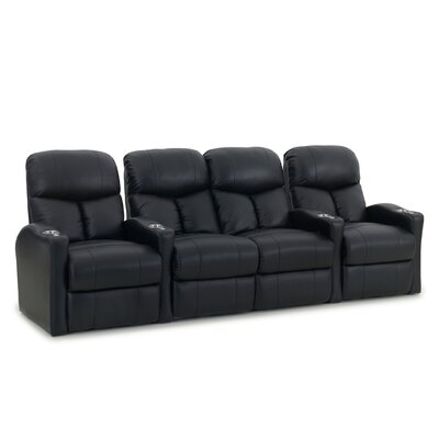 Home Theater Loveseat (Row of 4) Type: Power
