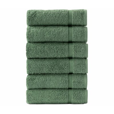 High Plain Hand Towel Color: Green