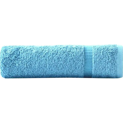6 Pieces Turkish Cotton Hand Towel Color: Aqua