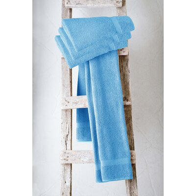 Turkish Cotton Bath Towel Color: Aqua