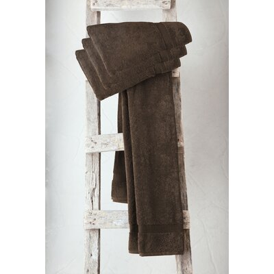 Turkish Cotton Bath Towel Color: Chocolate