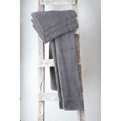 Holdenville Turkish Cotton Bath Towel Color: Gray