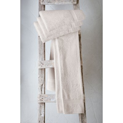 Turkish Cotton Bath Towel Color: Ivory