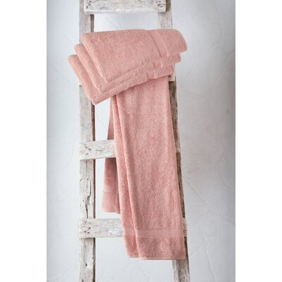 Turkish Cotton Bath Towel Color: Lobster