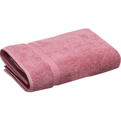 Turkish Cotton Bath Towel Color: Rose